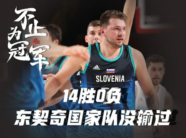 【斯洛文尼亚】14胜0负!有东契奇后斯洛文尼亚男篮还没输过